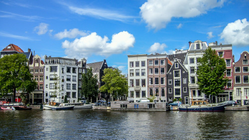 Prohlídka Amsterdamu