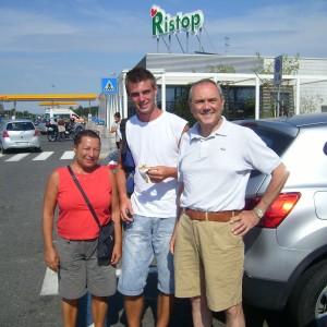 Autostop Itálie 0409