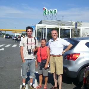 Autostop Itálie 0410