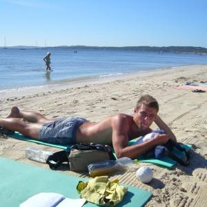 Francie pláže Hyeres 0374