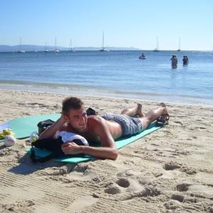 Francie pláže Hyeres 0375