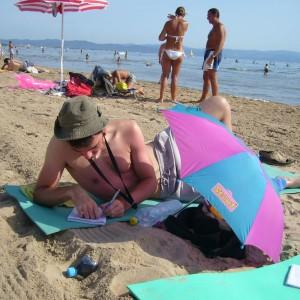 Francie pláže Hyeres 0375.1