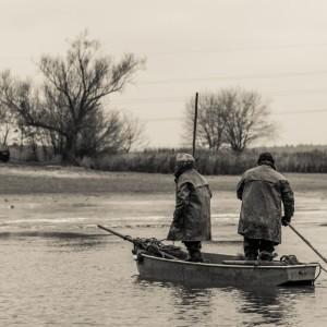 Výlov rybníka Drahotín